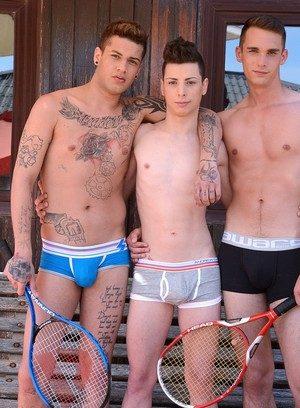 Cute Gay Orlando White,Alex Santana,Mickey Taylor,