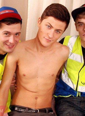 Wild Gay Sean Savoy,Leo Foxx,Skylar Blu,