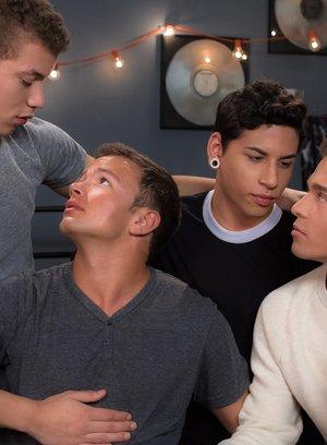 Hot Gay Corbin Colby,Aiden Garcia,Brad Chase,Logan Cross,