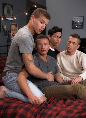 Sexy Dude Corbin Colby,Aiden Garcia,Brad Chase,Logan Cross,
