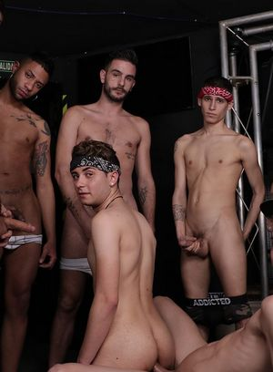 Sexy Guy Aaron Twink,Titus Snow,Mike Cole,