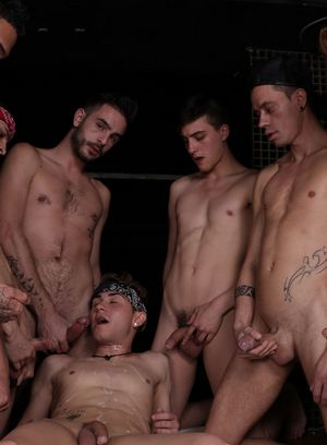 Cock Hungry Dude Titus Snow,Mike Cole,Aaron Twink,
