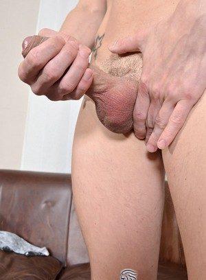 Muscle man Chad Hayden,