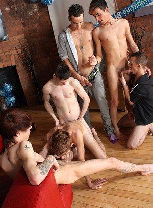 Cock Hungry Jacob Daniels,Luke Desmond,Lewis Romeo,Oli Jay,