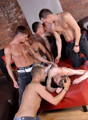 Naked Gay Deacon Hunter,Luke Desmond,James Lewis,Craig Daniel,Dwayne Adams,