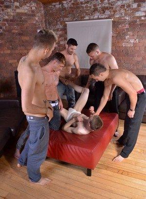 Hunky Gay Deacon Hunter,Luke Desmond,James Lewis,Craig Daniel,Dwayne Adams,