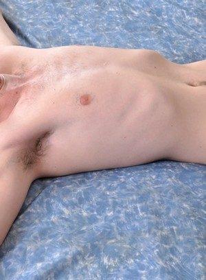 Muscle man Jonny Parker,