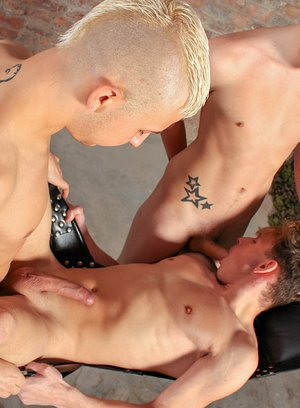 Hot Boy Oscar Roberts,Alex Silvers,Deacon Hunter,