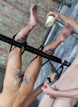 Naked Gay Sean Taylor,Koby Lewis,