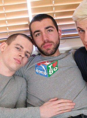Sexy Dude Skylar Blu,Damian Harrison,Brandon Boss,