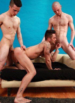 Naked Gay Andrea Suarez,Jason Domino,