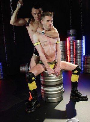 Sporty Hunk Seb Evans,David Lambert,