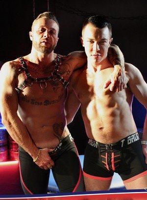 Sexy and confident David Lambert,Frank Valencia,