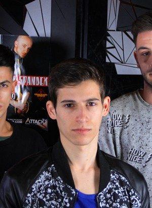 Hot Guy Abraham Montenegro,Dawid Paw,Alec Loob,