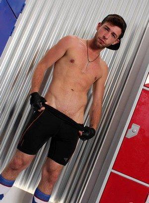 Muscle man Gabriel Phoenix,