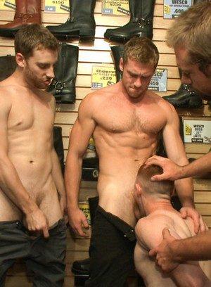 Hot Guy Connor Maguire,Bryan Cavallo,Damien Moreau,