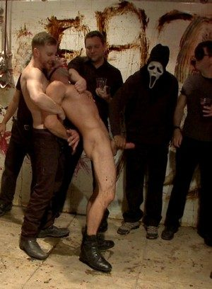 Hot Gay Big Red,Connor Maguire,Christian Wilde,