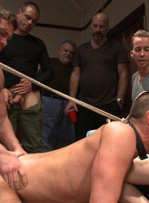 Horny Austin Chandler,Sean Duran,Connor Maguire,