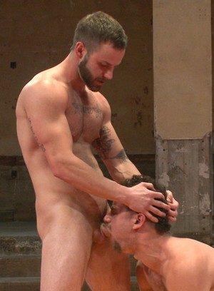 Naked Gay Chris Bines,