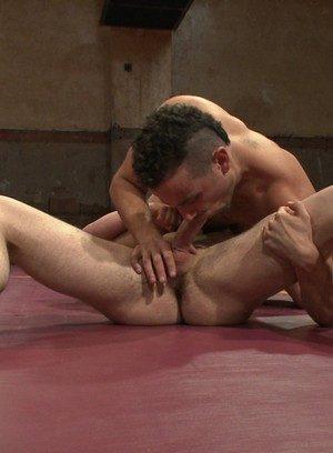 Muscle man Chris Bines,