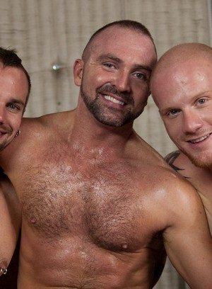Big Dicked Gay Josh West,Luke Riley,Kain Warn,