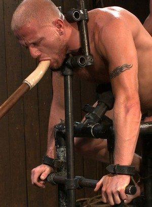 Muscle man Luke Riley,Tyler Saint,Van Darkholme,
