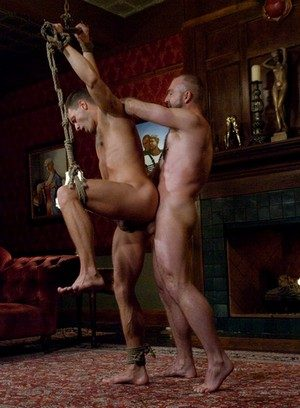 Muscle man Josh West,