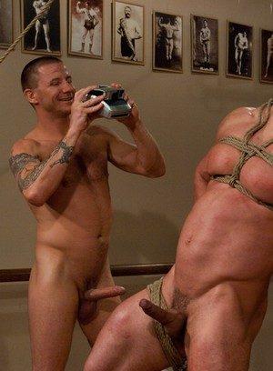 Naked Gay Vince Ferelli,Brenn Wyson,