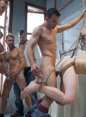 Hunky Gay Christian Wilde,Branden Forrest,