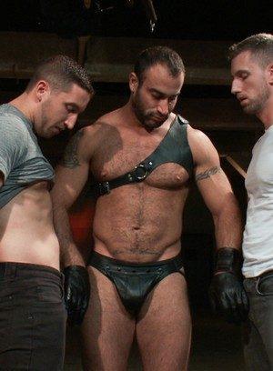 Hot Guy Spencer Reed,Tony Hunter,Troy Daniels,Van Darkholme,