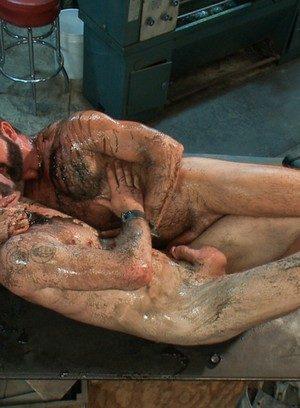 Hunky Gay Josh West,Clayton Kent,