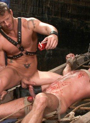 Naked Gay Dirk Caber,Jeremy Stevens,