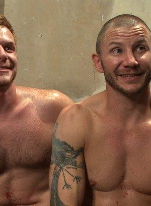 Naked Gay Brenn Wyson,Brian Bonds,