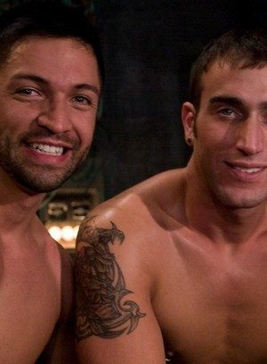 Hot Gay Dominic Pacifico,Spencer Reed,