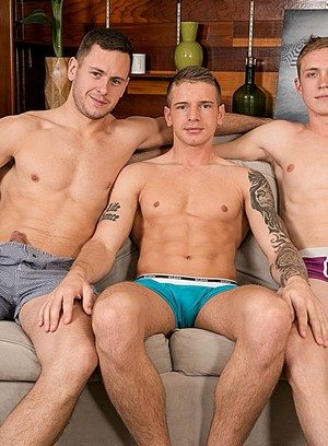 Handsome Guy Brenner Bolton,Zane Anders,