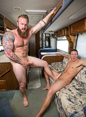 Sexy Gay Aaron Bruiser,Alexander Motogazzi,