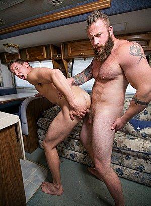 Wild Gay Alexander Motogazzi,Aaron Bruiser,