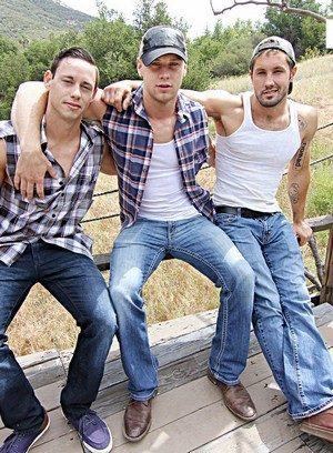 Wild Gay Brandon Evans,Jeff Powers,