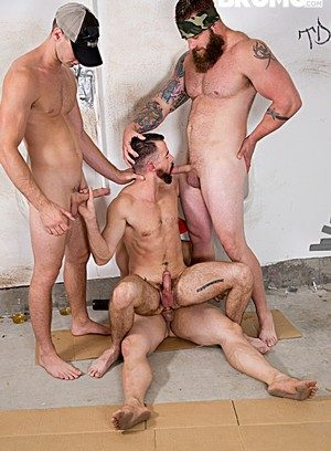Hunky Gay Jaxton Wheeler,Brendan Patrick,Aaron Bruiser,Brandon Evans,