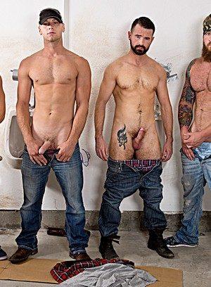 Handsome Guy Jaxton Wheeler,Brandon Evans,Aaron Bruiser,Brendan Patrick,