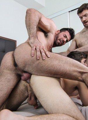 Horny Gay Will Braun,Dennis West,Billy Santoro,