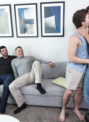 Naked Gay Brenden Cage,Dennis West,Will Braun,Billy Santoro,