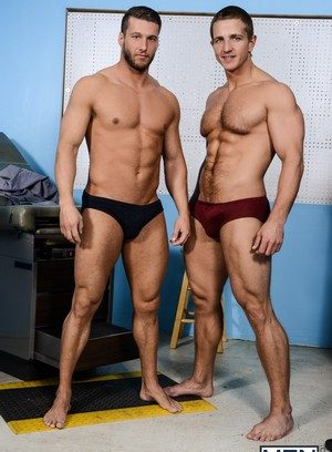Big Dicked Gay Rod Pederson,Landon Mycles,
