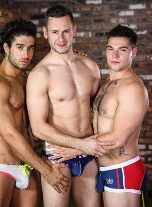 Sexy Guy Aspen,Diego Sans,Brenner Bolton,