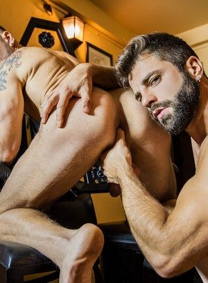 Hot Lover Matt Anders,Hector De Silva,