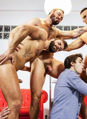 Hunky Gay Will Braun,Klein Kerr,Jessy Ares,Hector De Silva,