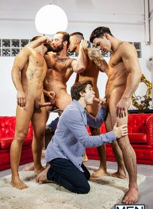 Cock Hungry Guy Will Braun,Hector De Silva,Jessy Ares,Klein Kerr,