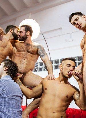 Horny Gay Will Braun,Klein Kerr,Jessy Ares,Hector De Silva,