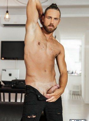 Muscle man Logan Moore,
