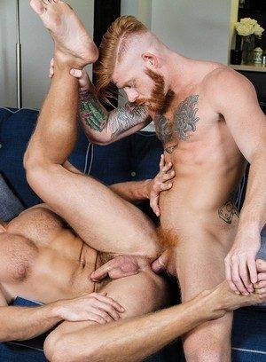Sexy and confident Landon Mycles,Bennett Anthony,